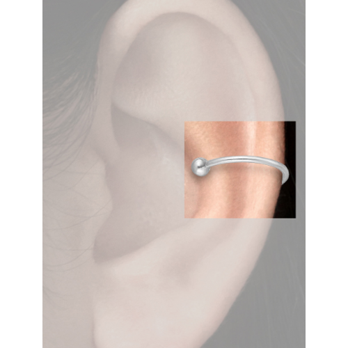 Zilveren earcuff Ylva