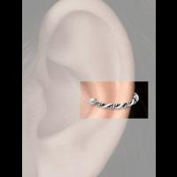 Zilveren earcuff Nicla