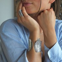 Zilveren BOHO armband Lima