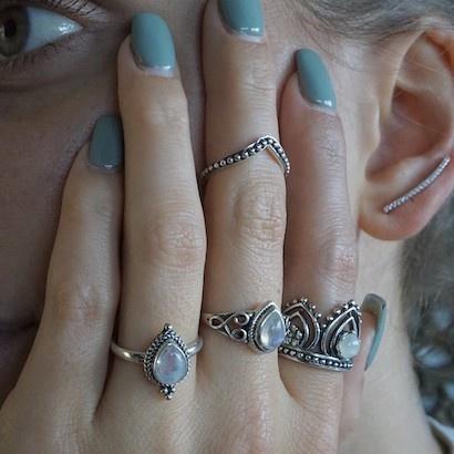 Vingertop ring Bali Beauty