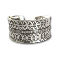 Zilveren bohemian armband