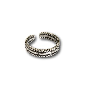 Teenring / vingertop ring Bali