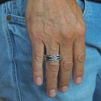 Zilveren ring Noyan