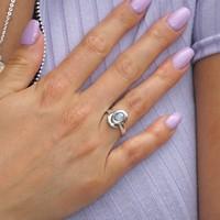Zilveren ring maansteen Manou