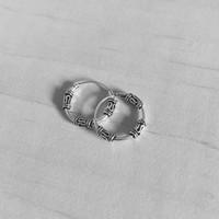Bali hoops oorbellen 11 mm