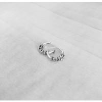 Bali hoops oorbellen 8 mm