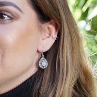 Zilveren Leelavadee ear cuff Cécile