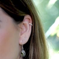Zilveren earcuff Charlotte