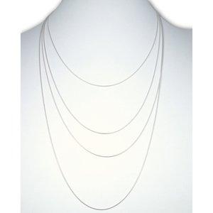 Zilveren  ketting Snake design