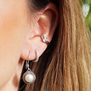 Zilveren earcuff Frédérique
