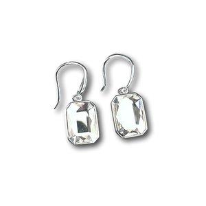 Zilveren oorbellen Swarovski