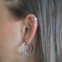 Zilveren earcuff Norah