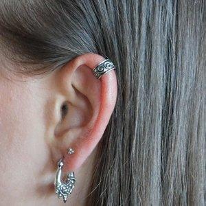 Zilveren earcuff Nicci