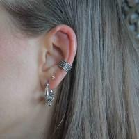 Zilveren earcuff Neomi