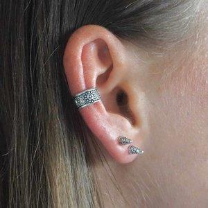 Zilveren earcuff Sunny