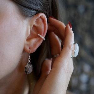 Zilveren earcuff Justine