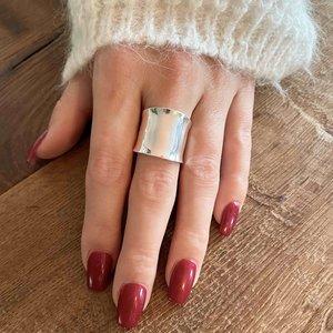 Zilveren ring Gladys