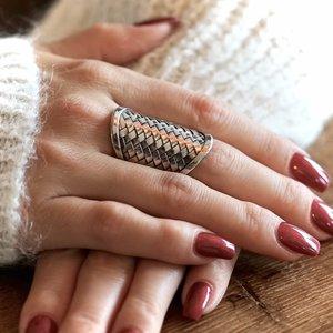 Zilveren boho ring Gillian