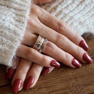 Zilveren Boho ring Gabriëla