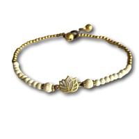 Enkelbandje lotus howliet