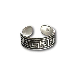 Teenring / vingertop ring mozaik
