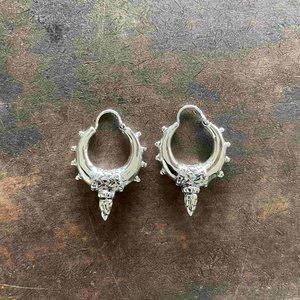 Zilveren oorbellen Shalina
