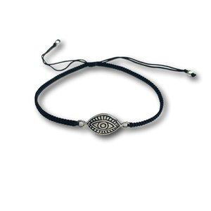 Bedel armbandje ALZIEND OOG - 925 zilver
