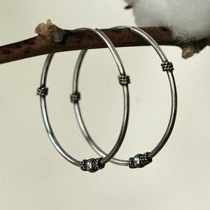 Bali Hoops oorbellen Jimbaran 40 mm
