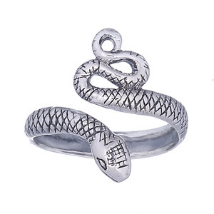 Teenring / vingertop ring Slang