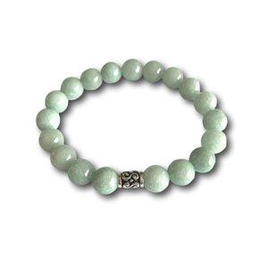 Kralen armband Jade