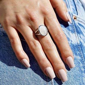 Zilveren Maansteen ring Chica