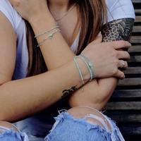 Armbandje Amazonite