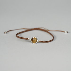 Armbandje Tiger-eye