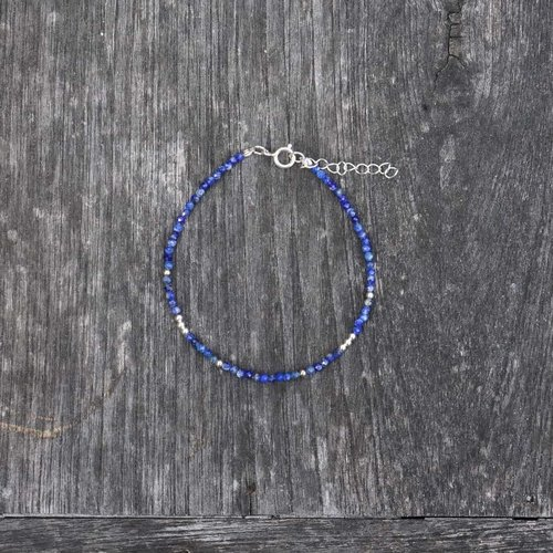 Armbandje blauwe Saffier