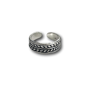 Teenring / vingertop ring Palmleaf