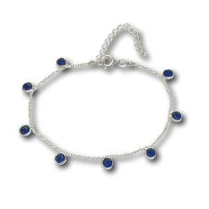 Edelsteen armband Blauwe Saffier