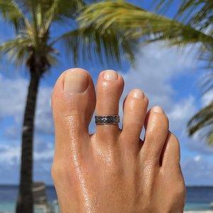 Teenring / vingertop ring Miami