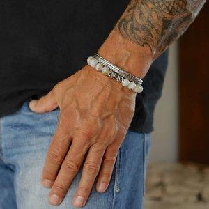 Kralen armband Agaat