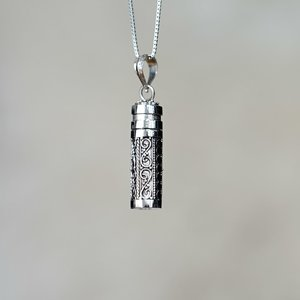 Bali wenskoker zilver