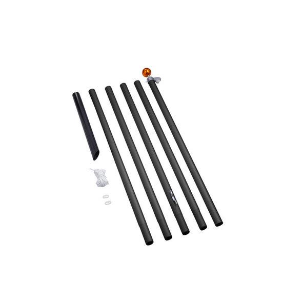 Fairybell 800CM Sectional Alu Pole - Black