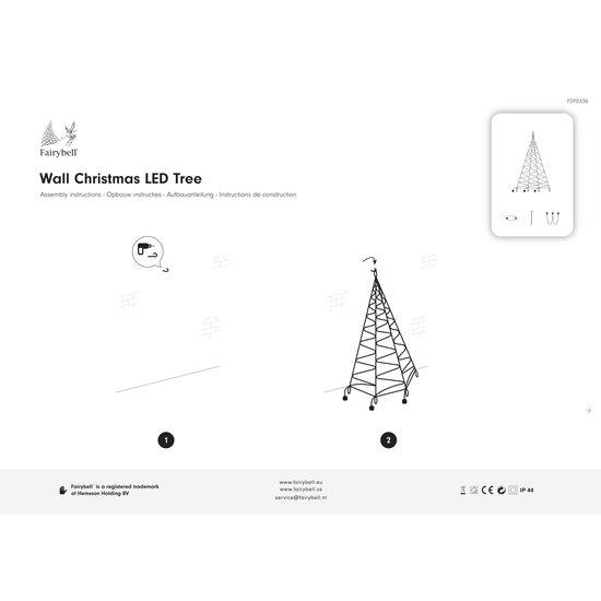 FAIRYBELL Wall 200CM-180LED Warmweiss