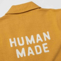 Human Made Human Made Half Zip Sweatshirt Yellow