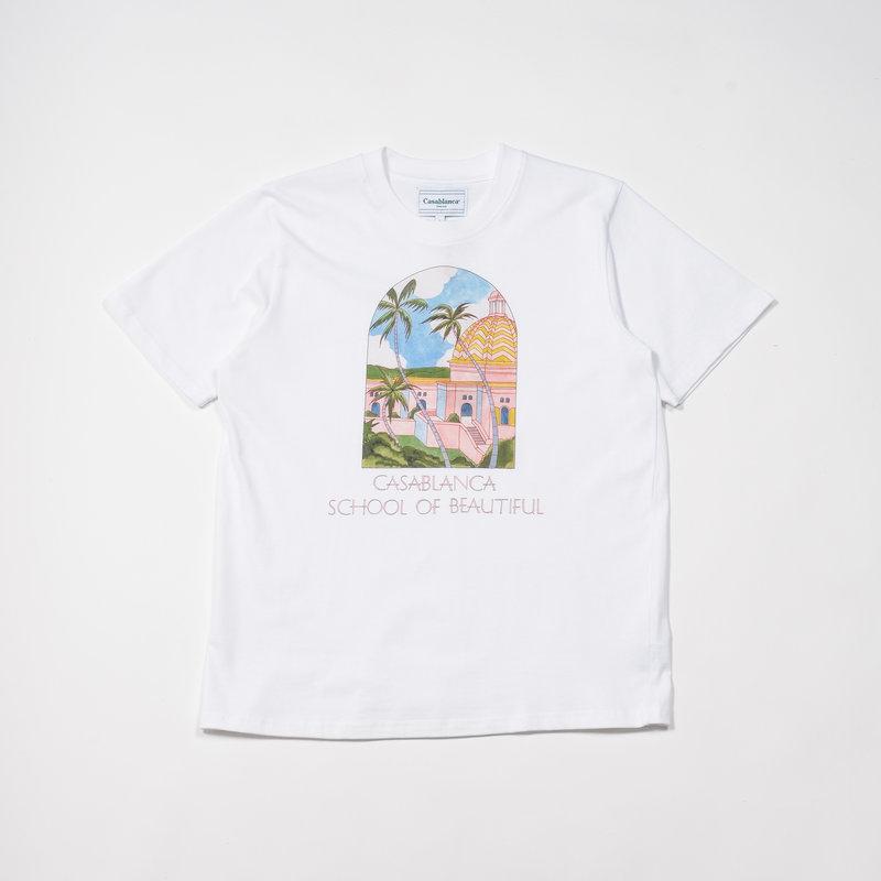 Casablanca Casablanca School of Beautiful Printed T-Shirt