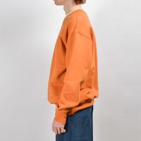 Uniform Bridge Uniform Bridge Watch Pocket Sweatshirt Orange