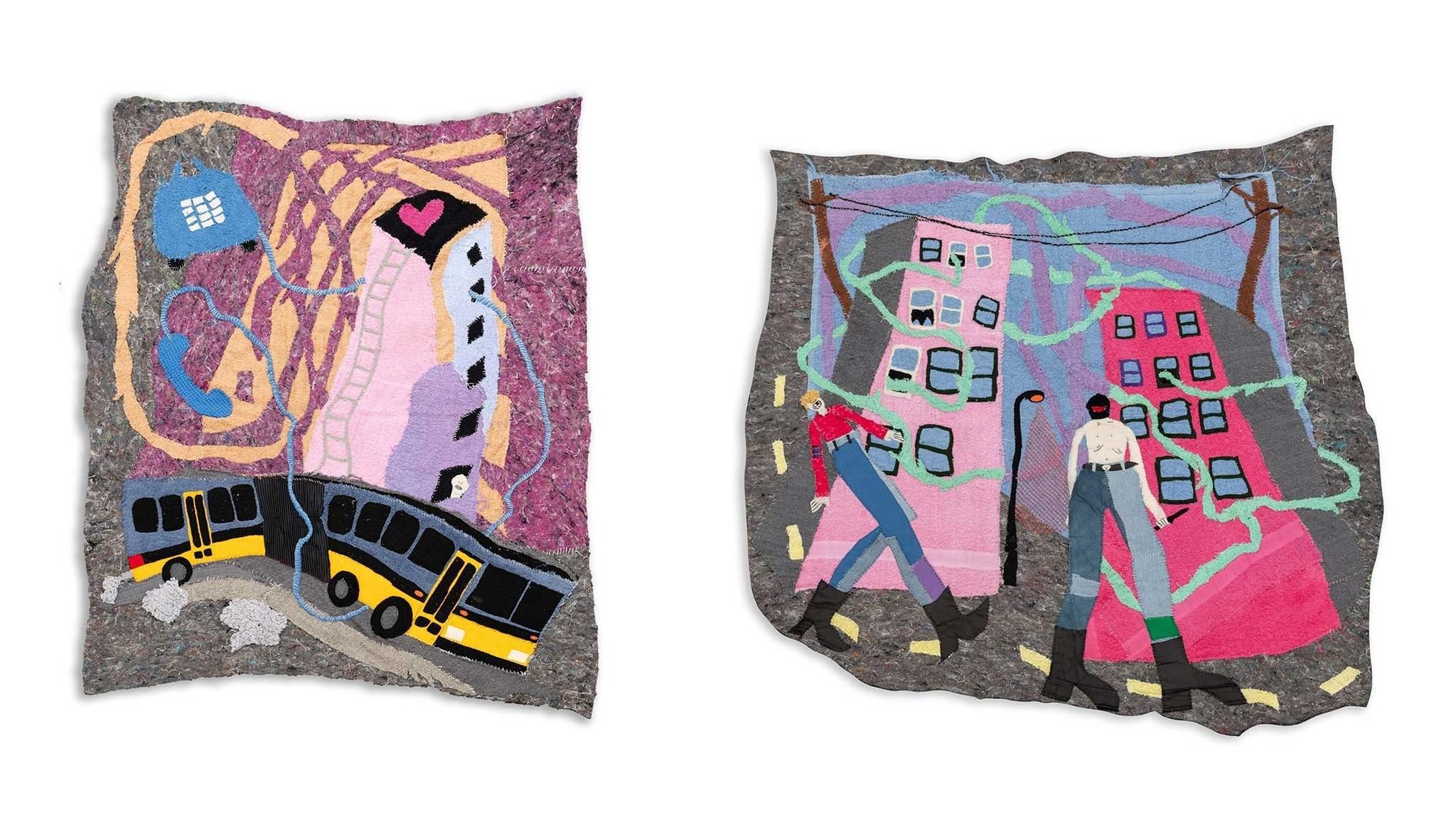 fabric artwork