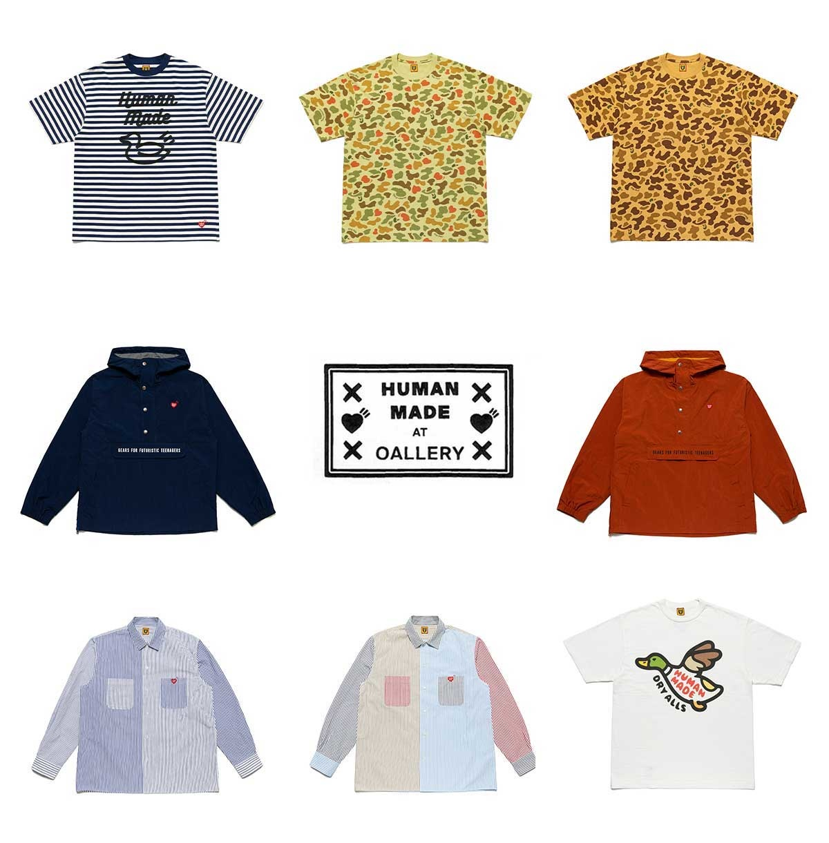 Human Made SS21 drop three collection