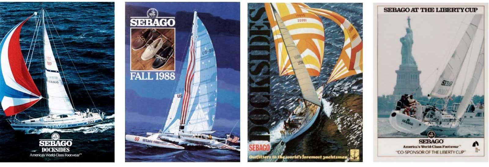 VIntage Sebago sailing posters