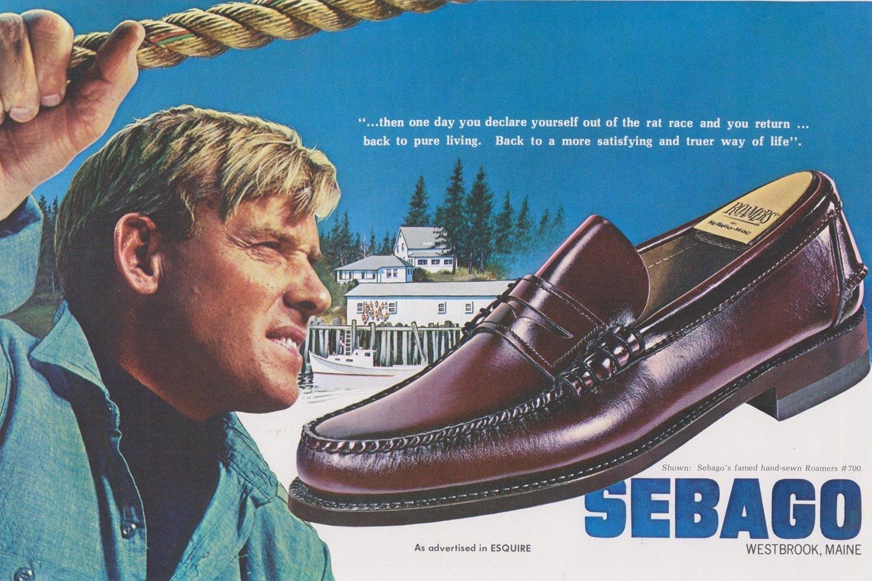 Vintage Sebago Poster