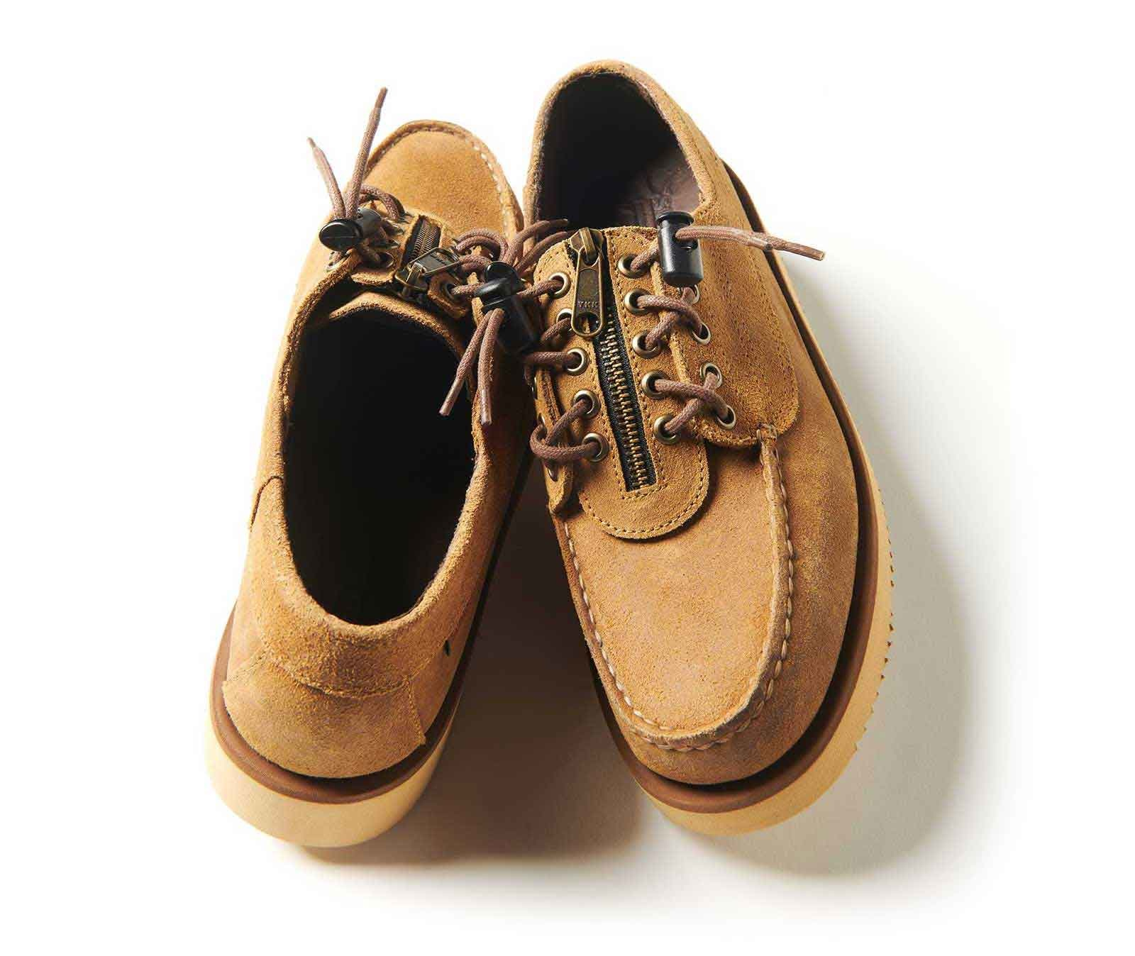Sebago x Engineered garments deck shoes