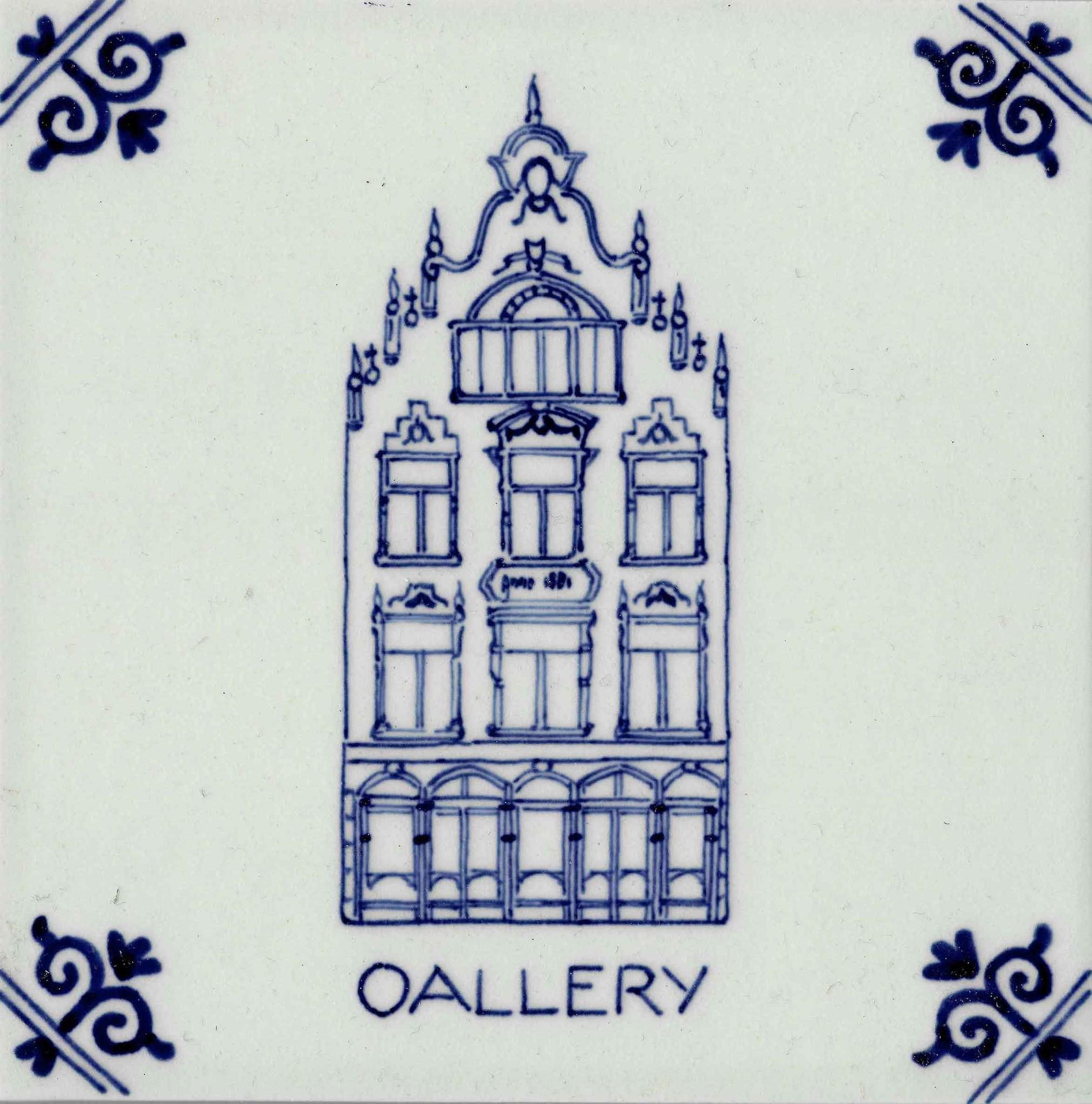 OALLERY Delfts Blue tile